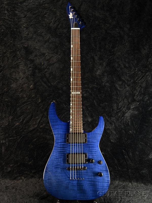【受注生産】BanG Dream! M-II SAYO 新品 氷川紗夜モデル [バンドリ!][ガールズバンドパーティ,ガルパ][スナッパー][Stratocaster,ストラトキャスタータイプ][See Thru Purple][Roselia,ロゼリア][Electric Guitar,エレキギター]