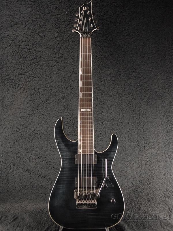 【中古】LTD H-1007FR -See Thru Black- 2016年製[ESPブランド][シースルーブラック,黒][7strings,7弦][Electric Guitar,エレキギター]【used_エレキギター】
