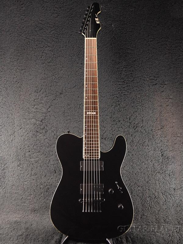 【中古】E-II TE-7 -Black- 2014年製[ESPブランド][Telecaster,TL,テレキャスタータイプ][BLK,ブラック,黒][Electric Guitar,エレキギター][TE7]【used_エレキギター】