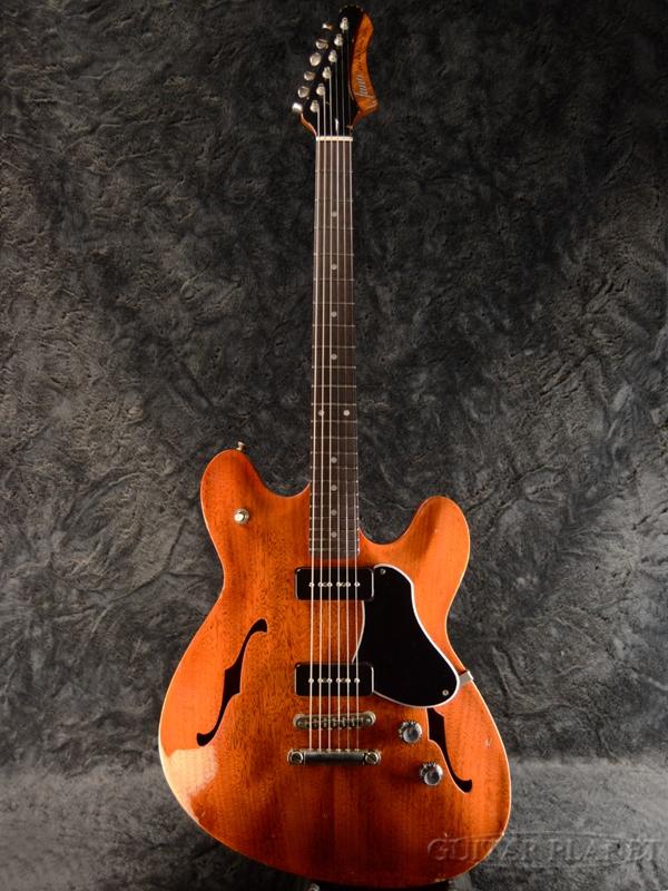 【当店カスタムオーダー品】fano Alt de facto GF6 P90 -Faded Cherry- 新品[ファノ][チェリー,赤][セミアコ][Electric Guitar,エレキギター]