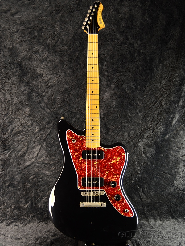 fano Standard JM6/90 -Bull Black- 新品[ファノ][スタンダード][ブルブラック,黒][Jazzmaster,ジャズマスタータイプ][Electric Guitar,エレキギター]
