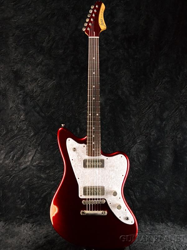【7月限定大特価!!】fano Standard JM6/90 -Candy Apple Red- 新品[ファノ][スタンダード][キャンディアップルレッド,赤][Jazzmaster,ジャズマスタータイプ][Electric Guitar,エレキギター]