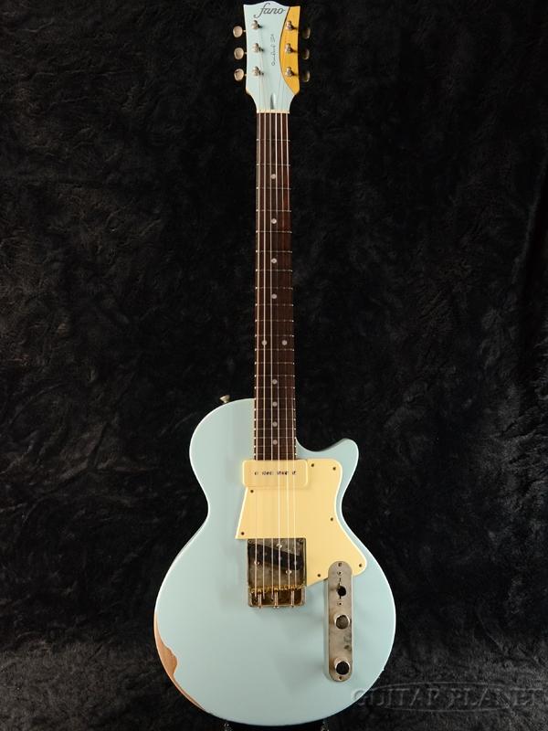 fano Standard SP6/T90 -Sonic Blue- 新品[ファノ][スタンダード][ソニックブルー,青][Les Paul,レスポールタイプ][Electric Guitar,エレキギター]