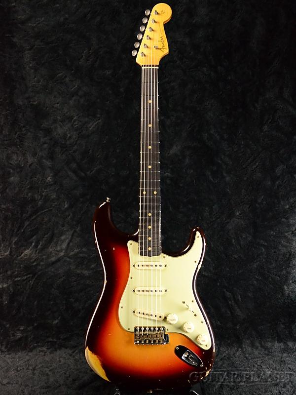 Fender Custom Shop ~2017 Dealer Show LIMITED~ 1960 Stratocaster Relic -Chocolate 3 Color Sunburst- 新品[フェンダーカスタムショップ][3カラーサンバースト][ST,ストラトキャスター][Electric Guitar,エレキギター]