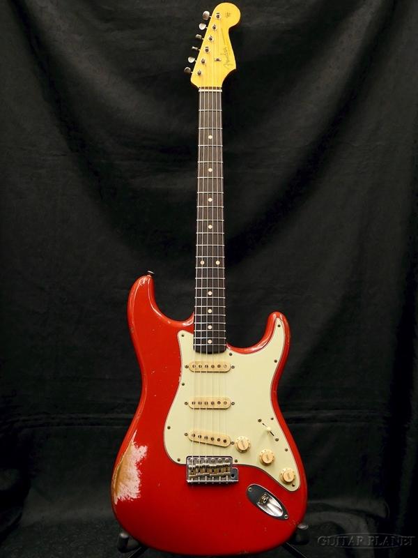 【中古】Fender Custom Shop MBS 1961 Stratocaster Relic -Seminole Red- by Jason Smith 2017年製[フェンダーカスタムショップ][Stratocaster,ストラトキャスタータイプ][セミノールレッド,赤][Electric Guitar,エレキギター]【used_エレキギター】