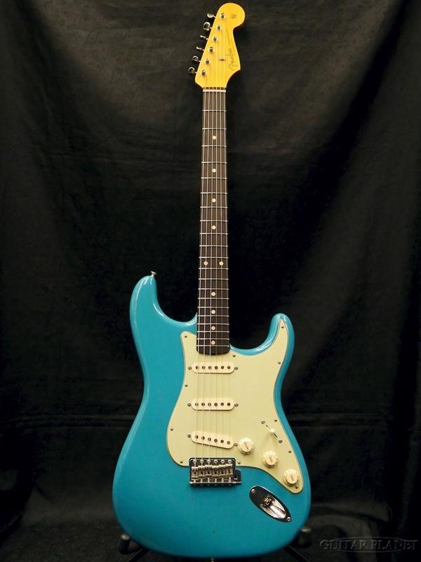 【中古】Fender Custom Shop MBS 1961 Stratocaster Journeyman Relic -Taos Turquoise- by Jason Smith 2017年製[フェンダーカスタムショップ][Stratocaster,ストラトキャスタータイプ][タオスターコイズ,青][Electric Guitar,エレキギター]【used_エレキギター】