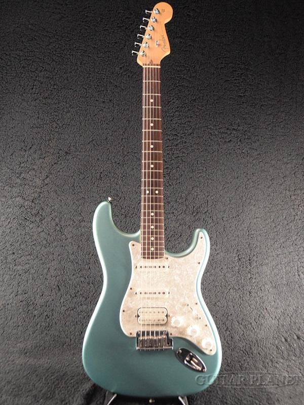 【中古】Fender USA American Fat Stratocaster -Teal Green Metallic / Rosewood- 2001年製[フェンダー][アメリカンファット][ティールグリーンメタリック,緑,Blue,ブルー,青][ストラトキャスター][Electric Guitar,エレキギター]【used_エレキギター】