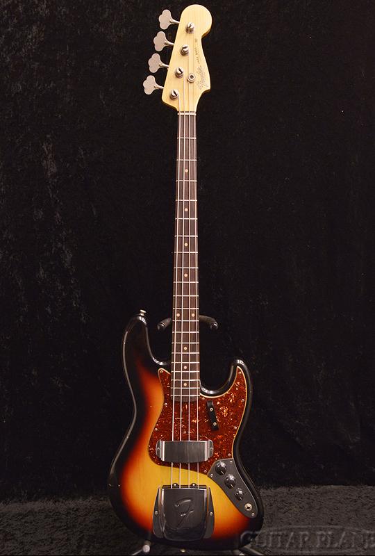Fender Custom Shop 1962 Jazz Bass Journeyman Relic -3-Color Sunburst- 新品 [フェンダーカスタムショップ,cs][ジャズベース,JB][3カラーサンバースト,3CS][Electric Bass,エレキベース]