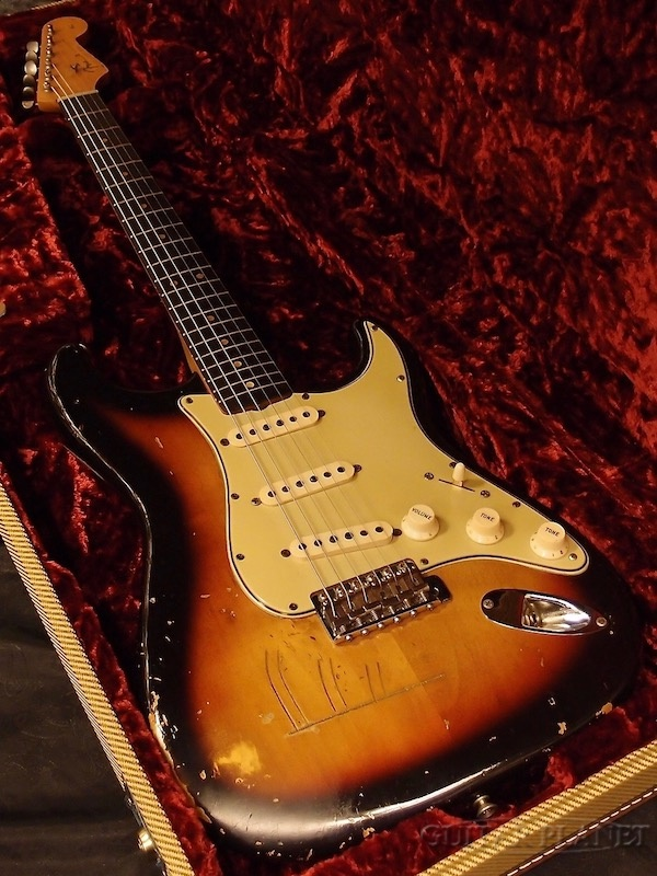【中古】Fender USA 1964 Stratocaster -3 Color Sunburst- 1964年製[フェンダー][サンバースト][ストラトキャスター][Electric Guitar,エレキギター]【used_エレキギター】_vtg