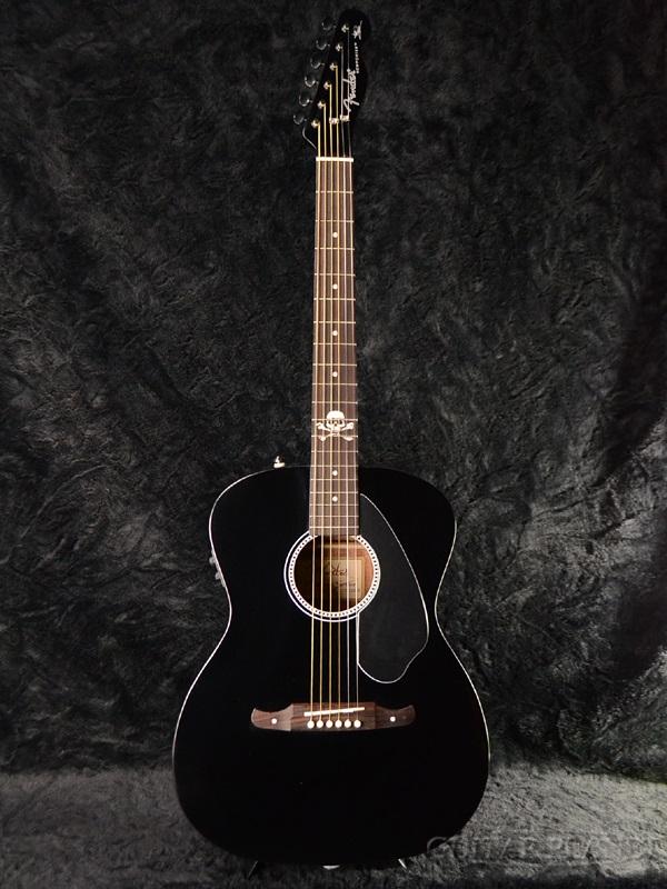 Fender Acoustics Avril Lavigne Newporter新货[挡泥板][虻利尔拉维尼][新搬运工人][Black,黑色,黑][ereako,akogi,吉他,Acoustic Guitar]