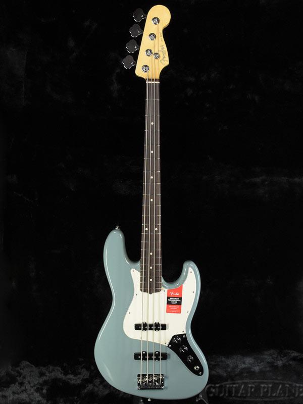 Fender USA American Professional Jazz Bass Sonic Gray/R 新品[フェンダー][アメリカンプロフェッショナル][ジャズベース][ソニックグレー][Electric Bass,エレキベース]
