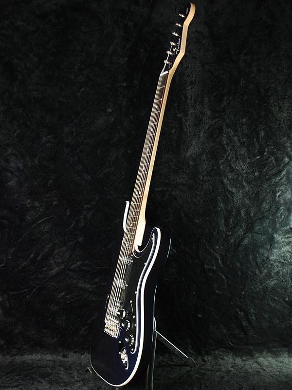 挡泥板日本独家飞车吉他中等规模 HSS 专线小巴全新青铜色蓝色 [挡泥板],[日本] [aérodyne] [吉他] [中] [Gunmetallic 蓝色,蓝色] [电吉他、 电吉他]