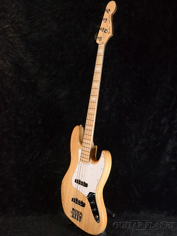 Fender Japan Exclusive Classic 70s Jazz Bass Maple(老型号:JB75)新货[挡泥板][日本][爵士基础][Natural,天然][电子吉他基础,Electric Bass]