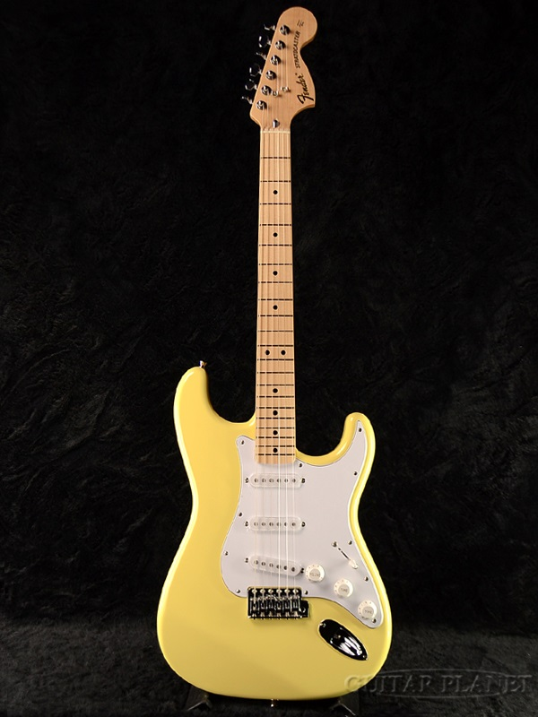 guitar planet fender japan exclusive classic 70 s stratocaster ywh m old st72 brand new. Black Bedroom Furniture Sets. Home Design Ideas