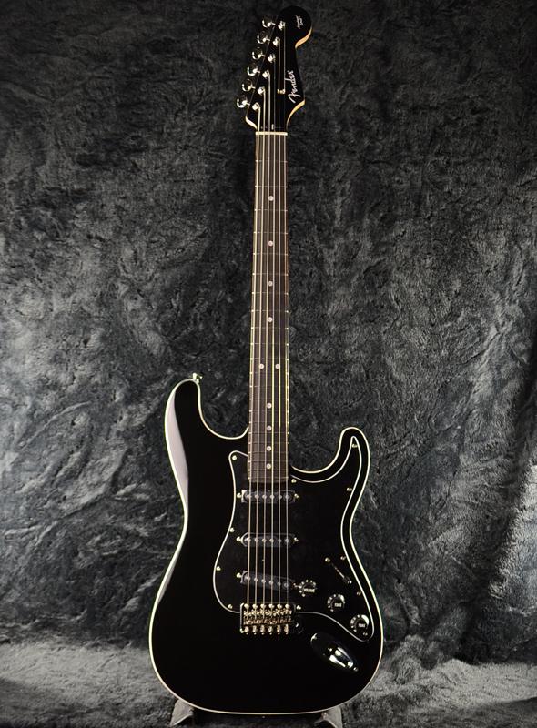 Fender Japan Exclusive Aerodyne Stratocaster BLK (旧型番:AST) 新品 ブラック[フェンダー][ジャパン][エアロダイン][ストラトキャスター][黒,Black][Electric Guitar,エレキギター]