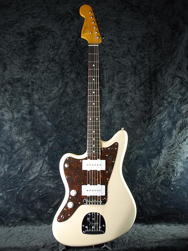 需要确认Fender Japan JM66 LH VWH新货左撇子的人[挡泥板日本][Jazzmaster,爵士主人][Vintage White,复古白,白][Lefty,左撇子用][Electric Guitar,电子吉他]