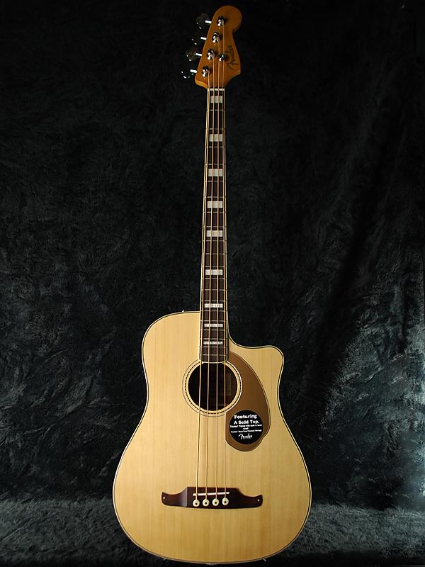 Bass Fender V2 Kingman Bass]_otherb SCE 新品 ナチュラル[フェンダー][キングマン][Natural][アコースティックベース,アコベ,Acoustic