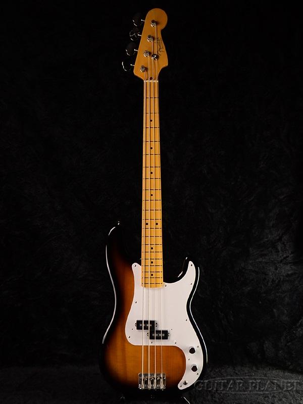 Fender Japan Exclusive Classic '50s P Bass T (旧型番:PB57) 新品 タバコサンバースト[フェンダー][ジャパン][Precision Bass,プレシジョンベース,プレベ][Tobacco Sunburst][Electric Bass,エレキベース]