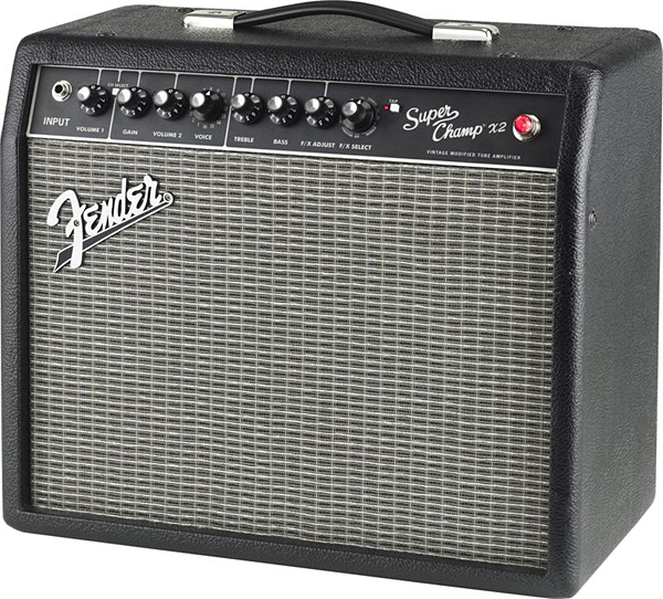 【15W】Fender USA Super Champ X2 新品 ギターチューブアンプ[フェンダー][真空管アンプ][インターフェース機能搭載][Guitar Combo Amplifier]