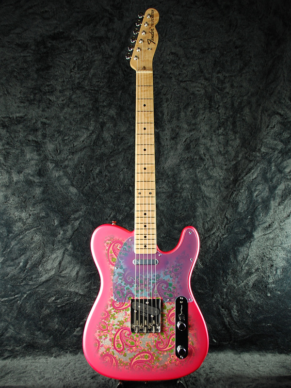 guitar planet fender japan exclusive classic 69 telecaster red paisley old tl69 brand new. Black Bedroom Furniture Sets. Home Design Ideas