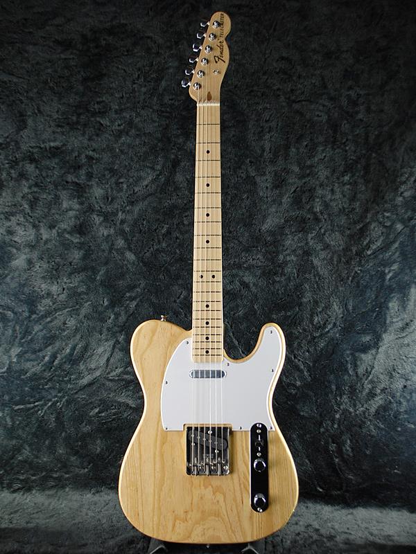 Fender Japan Exclusive Classic 70s Telecaster Ash NAT/M (旧型番:TL71/ASH) 新品 ナチュラル[フェンダー][ジャパン][テレキャスター][Natural][エレキギター,Electric Guitar]