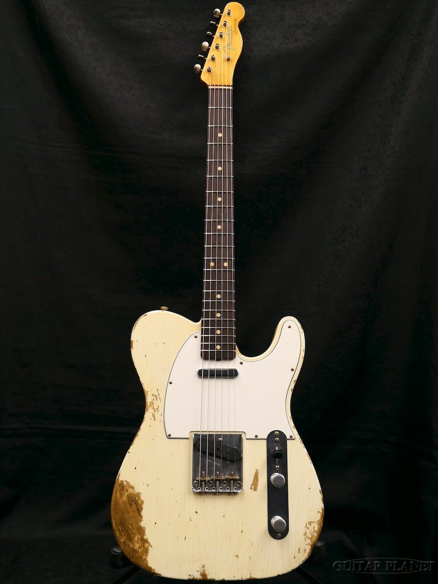 Fender Custom Shop ~2018 NAMM LIMITED Faded/Aged #112~ 1963 Relic Telecaster -Super FLASH-COAT Heavy Relic -Super Faded/Aged Olympic White- 新品[フェンダーカスタムショップ][テレキャスター][エイジドオリンピックホワイト,白][Electric Guitar,エレキギター], 京都西陣 iroha:878ee59d --- avtozvuka.ru