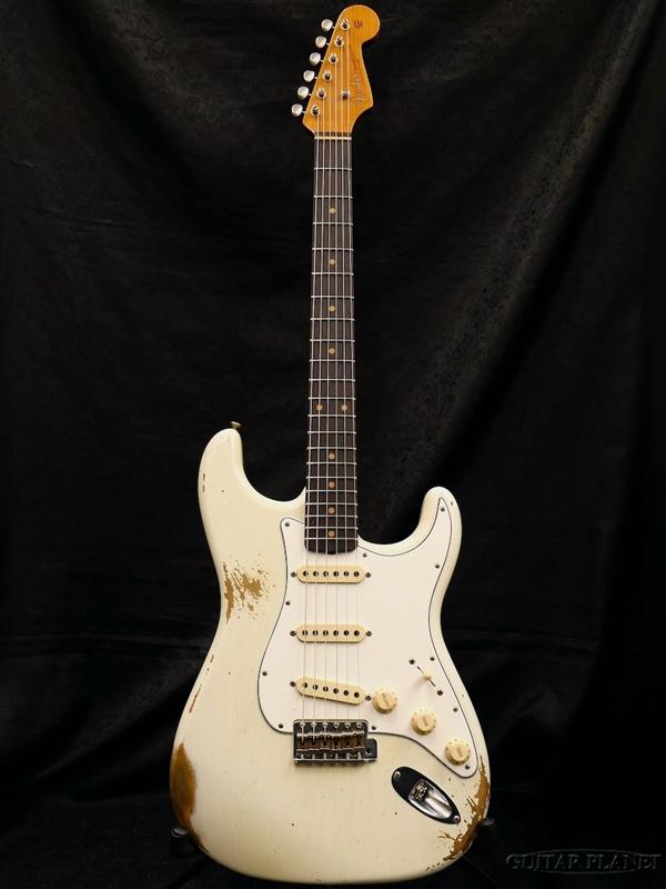Fender Custom Shop ~2018 NAMM LIMITED Shop #221~ Relic 1960 White- ''Roasted'' Stratocaster Relic -Aged Olympic White- 新品[フェンダーカスタムショップ][ストラトキャスター][エイジドオリンピックホワイト][Electric Guitar,エレキギター], 宮地楽器 ミュージックオンライン:023f8b5c --- avtozvuka.ru