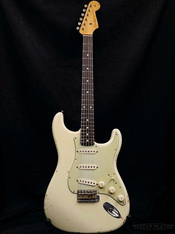 【中古】Fender Custom Shop MBS 1960 Stratocaster Relic ''Brazilian Rosewood Limited'' -Olympic White- by Dennis Galuszka 2006年製[フェンダーカスタムショップ][デニス・ガルスカ][ストラトキャスター][オリンピックホワイト,白]【used_エレキギター】