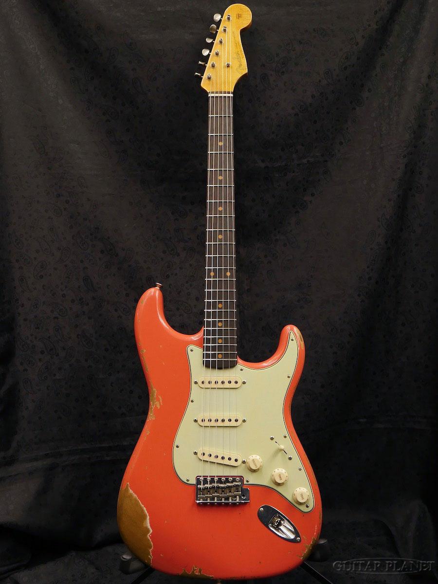 大人気の 【完全限定1本】Fender Custom Shop ''Guitar Planet Exclusive'' 1962 Stratocaster Heavy Relic -Faded Fiesta Red- 新品[フェンダーカスタムショップ,CS][フィエスタレッド,赤][ストラトキャスター][Electric Guitar,エレキギター], The Fantasy 1307eb1f