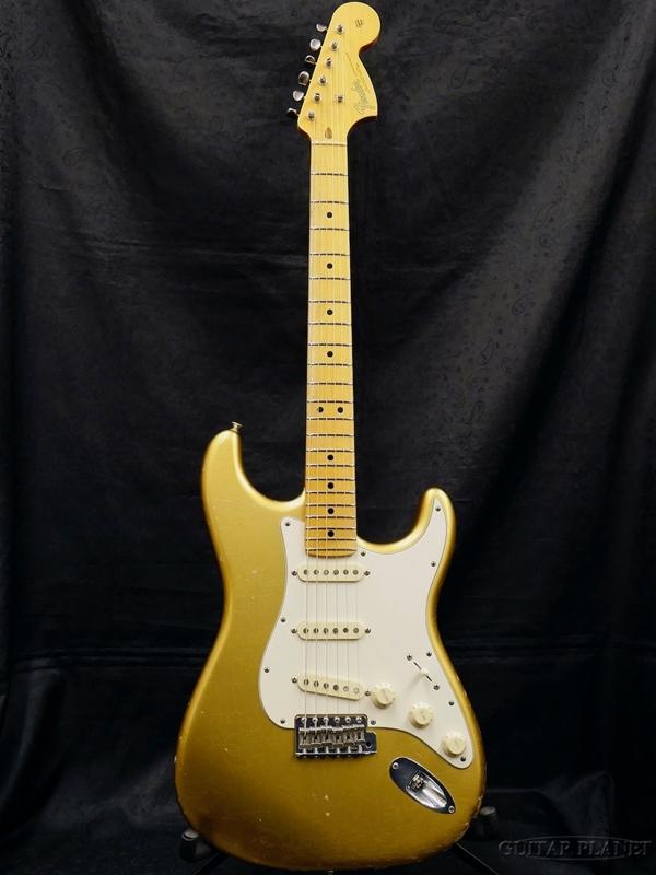 【中古】Fender Custom Shop MBS 1966 Stratocaster Closet Classic MOD -Aztec Gold- by Todd Krause 2014年製[フェンダーカスタムショップ][トッド・クラウス][ストラトキャスター][アズテックゴールド,金]【used_エレキギター】