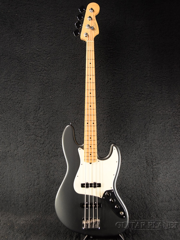 【中古】Fender USA American Standard Jazz Bass -Charcoal Frost Metallic / Maple- 2011年製[フェンダー][アメリカンスタンダード][チャコールフロストメタリック][JB,ジャズベース][Electric Bass,エレキベース]【used_ベース】