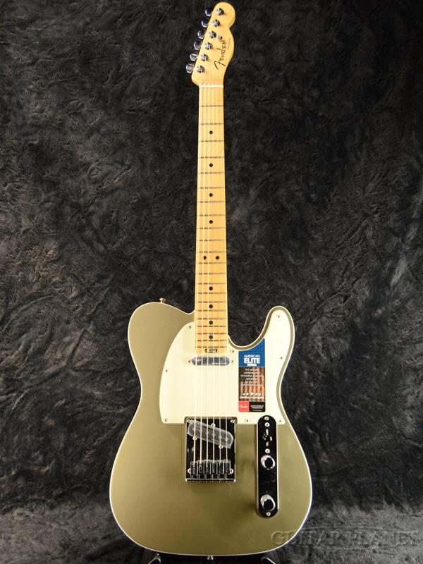 Fender USA American Elite Telecaster -Champagne / Maple- 新品[フェンダー][アメリカンエリート][シャンパン][TL,テレキャスター][Electric Guitar,エレキギター]