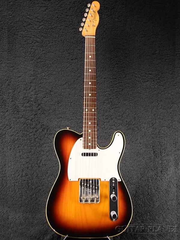 【中古】Fender USA American Vintage '62 Custom Telecaster -3-Color Sunburst- 1999年製[フェンダー][アメリカンスヴィンテージ][テレキャスター][3カラーサンバースト,3CS][Electric Guitar,エレキギター]【used_エレキギター】