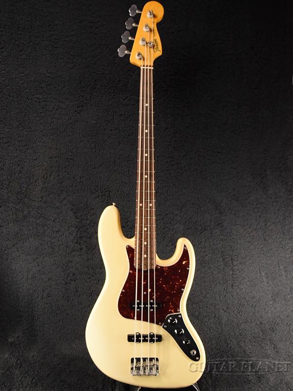【中古】Fender USA American Vintage '62 Jazz Bass -Vintage White-[フェンダー][アメリカンビンテージシリーズ][ヴィンテージホワイト,白][JB,ジャズベース][Electric Bass,エレキベース]【used_ベース】