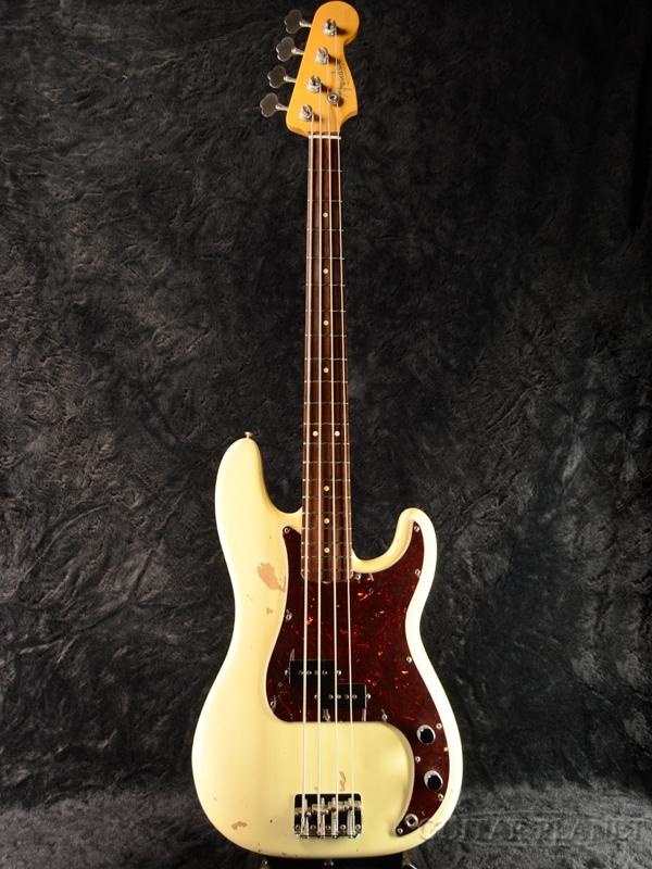 【中古】Fender USA American Vintage '62 Precision Bass -Olympic White- 2011年製[フェンダーUSA][アメリカンビンテージ][オリンピックホワイト,白][プレシジョンベース,プレベ,PB][Electric Bass,エレキベース]【used_ベース】