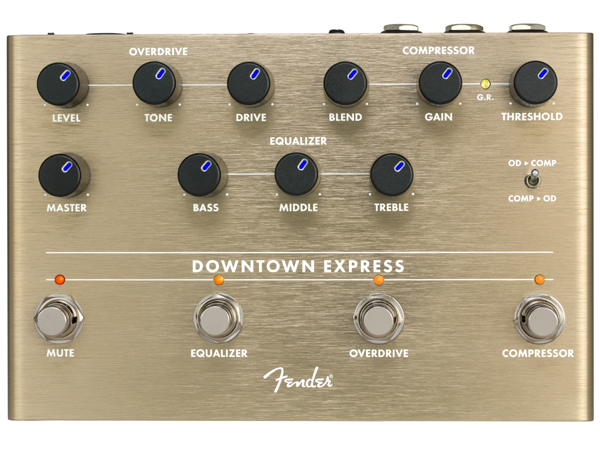 Fender Downtown Express 新品 ベース用マルチエフェクター[フェンダー][Effector,エフェクター,ペダル]