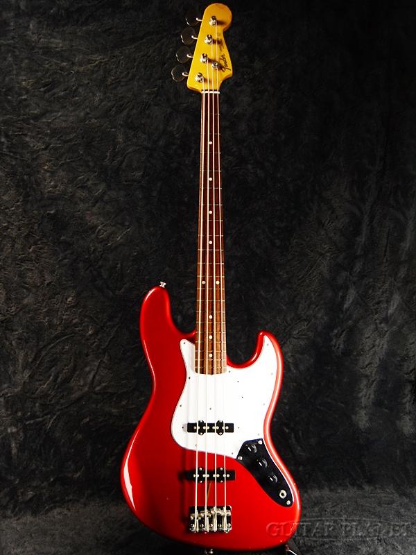【中古】Fender Japan JB62 -Candy Apple Red-1999-2002年製[フェンダー][キャンディアップルレッド,赤][Jazz Bass,ジャズベースタイプ][Electric Bass,エレキベース]【used_ベース】