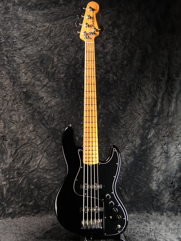 【中古】Fender USA Marcus Miller Jazz Bass V -Black- 2011年製[フェンダー][マーカス・ミラー][ブラック,黒][5strings,5弦][JB,ジャズベース][Electric Bass,エレキベース]【used_ベース】