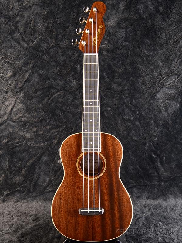 Fender Grace Vander Waal Signature Ukulele 新品 コンサートウクレレ[フェンダー][Mahogany,マホガニー][Concert][Natural,ナチュラル]