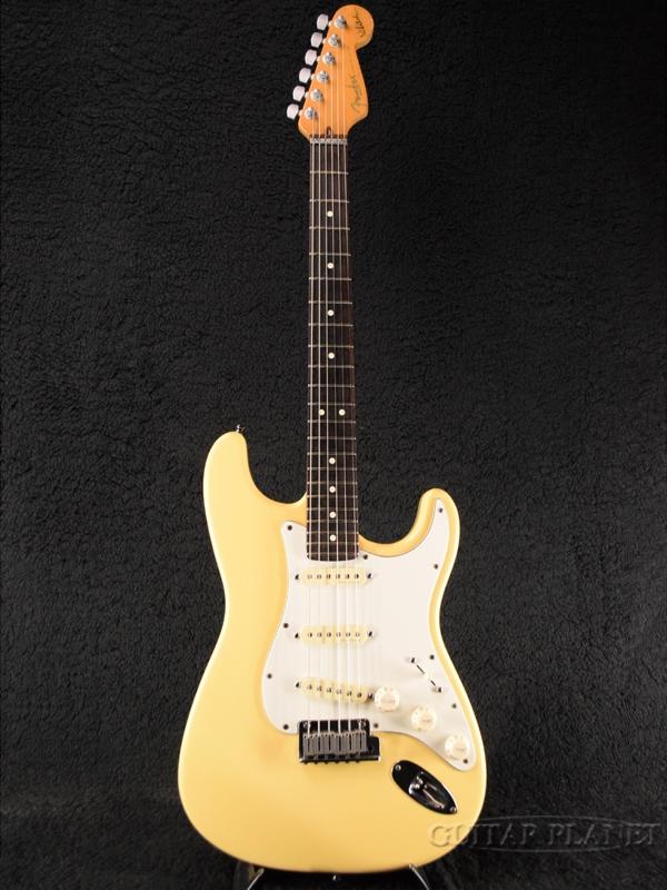 【中古】Fender USA Jeff Beck Stratocaster ''Mod.'' -Vintage White- 1996年製[フェンダー][ジェフ・ベック][ヴィンテージホワイト,白][ストラトキャスター][Electric Guitar,エレキギター]【used_エレキギター】