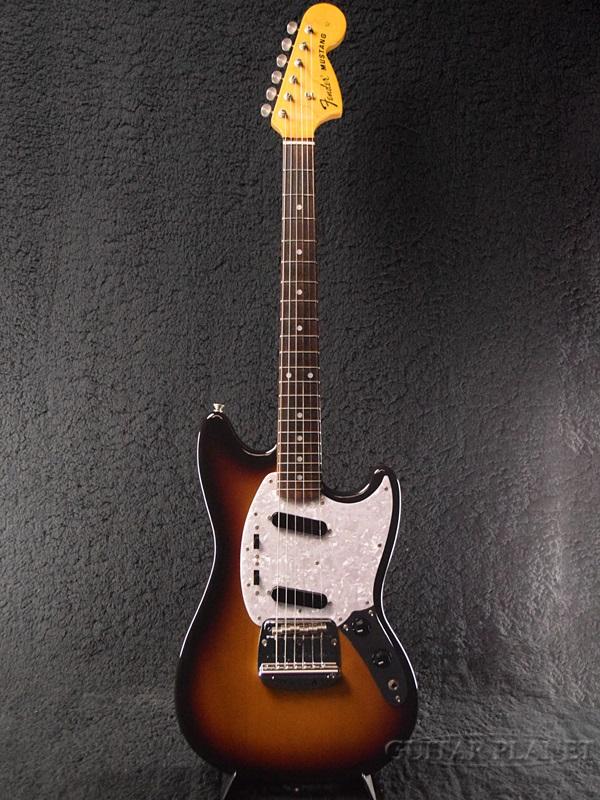 【美品中古!】Fender Japan MG69 -3TS (3 Tone Sunburst)- 2010-2012年製[フェンダージャパン][サンバースト,木目][Mustang,ムスタング][Electric Guitar,エレキギター]【used_エレキギター】