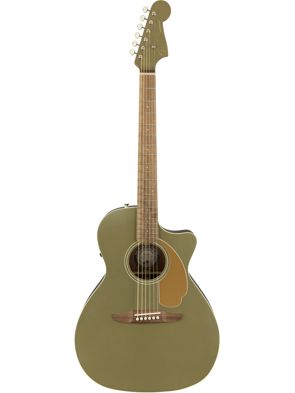Fender Newporter Player Olive Satin 新品[フェンダー][Green,グリーン,緑][Electric Acoustic Guitar,アコースティックギター,アコギ,エレアコ]