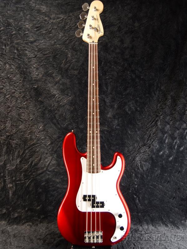 【中古】Fender Japan PB-STD -Candy Apple Red- 2002-2004年製[フェンダー][キャンディアップルレッド,赤][Precision Bass,プレシジョンベースプレベ][Electric Bass,エレキベース]【used_ベース】