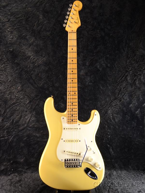【中古】Fender Japan ST57-140YM -PYW (Pearl Yellow White)- 1994-1995年製[フェンダージャパン][Yngwie Malmsteen][パールイエローホワイト,白,黄][Stratocaster,ストラトキャスター][Electric Guitar,エレキギター]【used_エレキギター】