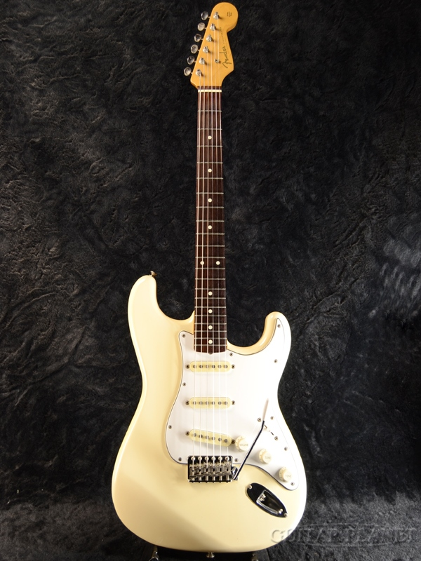 【中古】Fender Japan ST62-55 ''Mod.'' -VWH (Vintage White)- 1984年製[フェンダージャパン][JV Serial][ヴィンテージホワイト,白][Stratocaster,ストラトキャスター][Electric Guitar,エレキギター]【used_エレキギター】