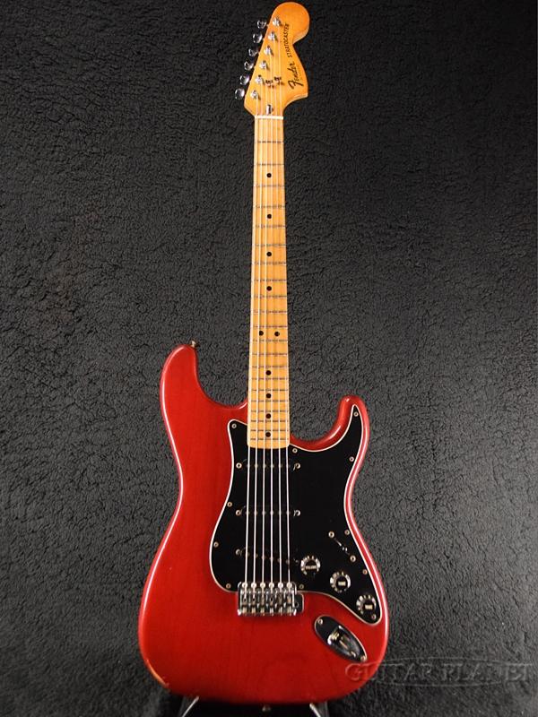 【中古】Fender USA Stratocaster -Trans Red / Maple- 1980年製[フェンダーUSA][トランスレッド,赤][ストラトキャスター][Electric Guitar,エレキギター]【used_エレキギター】