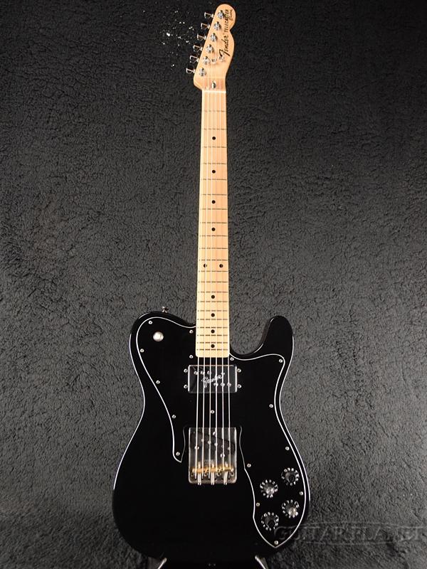 【中古】Fender Japan TC72 ''MOD'' -BLK (Black)- 2006-2008年[フェンダージャパン][Telecaster Custom,テレキャスターカスタム][ブラック,黒][Electric Guitar]【used_エレキギター】
