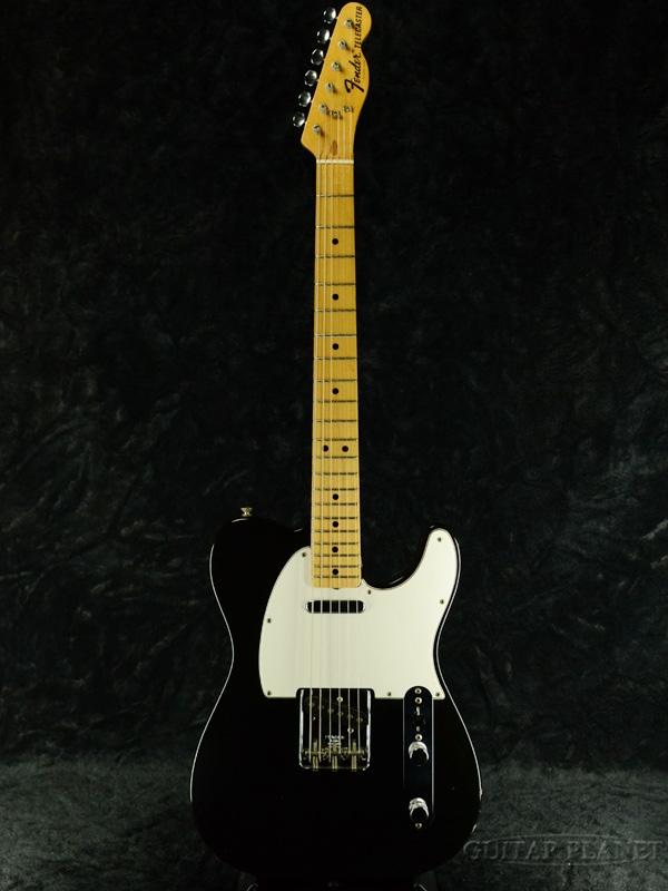 【御委託中古品】Fender USA Telecaster -Black / Maple- 1974-1975年製[フェンダー][ブラック,黒][テレキャスター][Guitar]【used_エレキギター】