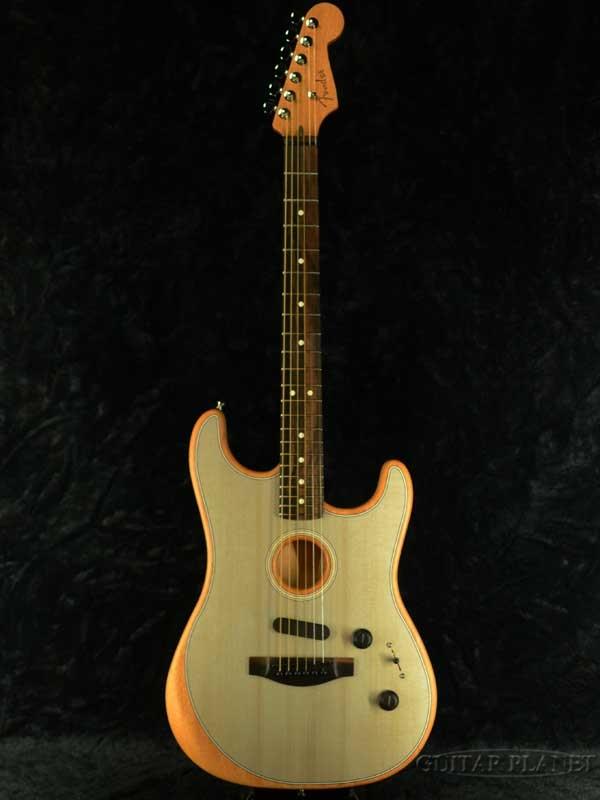 Fender USA American Acoustasonic Stratocaster -Sonic Blue- 新品[フェンダー][アコースタソニック][ブルー,青][ストラトキャスター][Guitar,ギター]