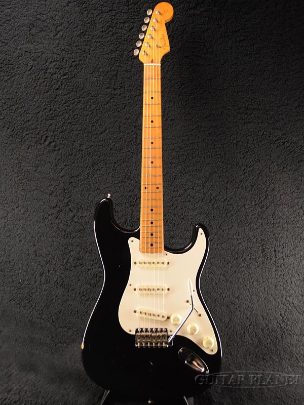 【中古】Fender Japan ST57-53 -BLK- 1993-1994年製 [フェンダージャパン][黒,Black][Stratocaster,ストラトキャスター][Electric Guitar,エレキギター]【used_エレキギター】